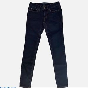 AEROPOSTALE DARK WASH DENIM JEGGINGS